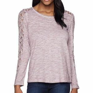 Small ARIAT Purple Romina LS Knit Tee Shirt NWT